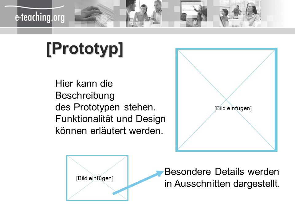 [Prototyp] Hier kann die Beschreibung des Prototypen stehen.